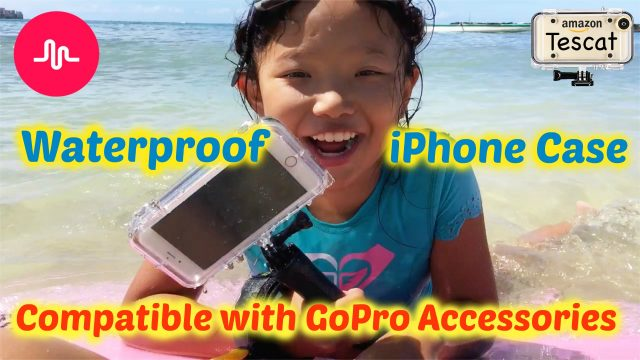 Extreme Sports Waterproof Case for iPhone 6s Plus | Underwater Musically Challenge