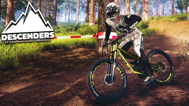 EXTREME STUNT BIKING – Descenders