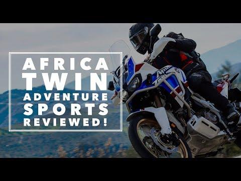 Honda Africa Twin Adventure Sports (2018) – first ride   BikeSocial