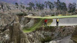 la paz highest golf course in the world