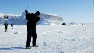 Coldest golf course in the world